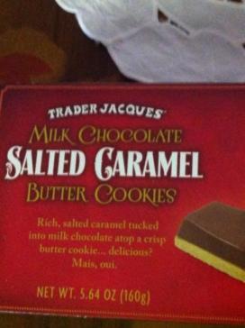TJ Salted Caramel Cookies