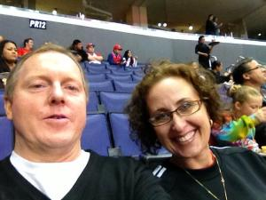 Kevin O'Keefe & Me at the Clipper's Game.