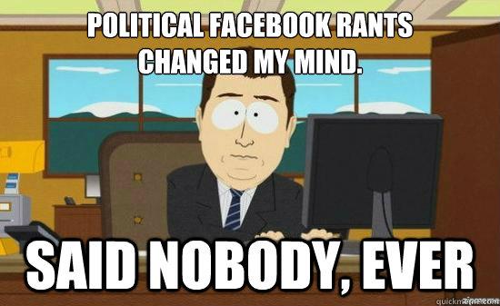political rant